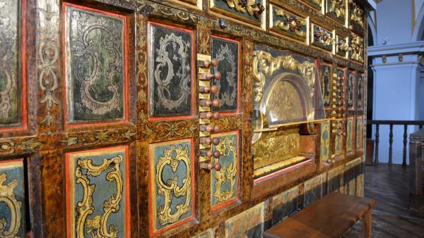 Órgano antiguo de El Bonillo.