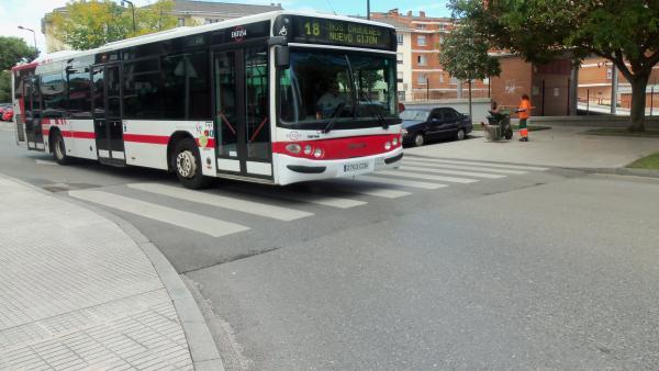 Autobús urbano de Gijón, Emtusa.