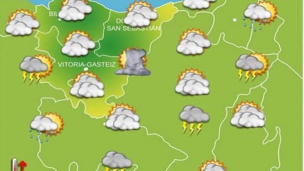 Previsiones meteorológicas para el 20 de septiembre en el País Vasco.