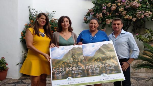 Amo (dcha.) y Cabello (izda.), en la presentación de Agropriego 2019