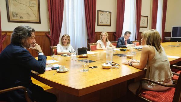 Reunión de la Mesa del Parlamento