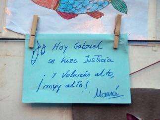 Mensaje a Gabriel Cruz
