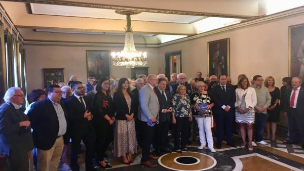 Recepción del Ayuntamiento de Oviedo a una delegación de Bochum