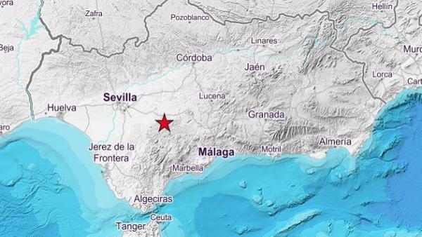 Registrados terremotos en Villanueva de San Juan y La Puebla de Cazalla