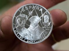 Moneda de Magallanes y Elcano