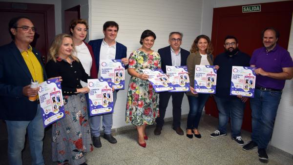 La alcaldesa de Ciudad Real, Pilar Zamora, en la presentación de la app 'The Neo Marquet'