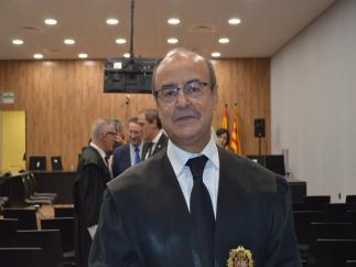 El presidente del Tribunal Superior de Justicia de Catalunya (TSJC), Jesús María Barrientos