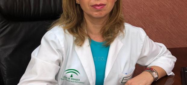 María Belén Martínez, directora gerente del Área Sanitaria Jaén Norte