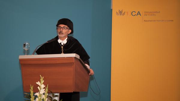 Francisco Piniella, rector de la Universidad de Cádiz