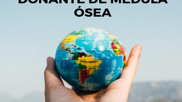 Cartel de ADMO en Extremadura con motivo del Día Mundial del Donante de Médula Ósea