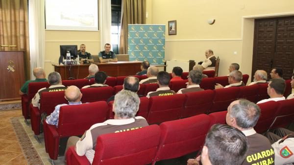 Celebración de la 'Jornada de Coordinación con Guardas Rurales'.