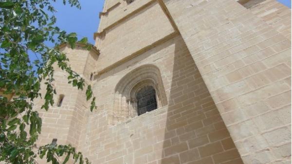 Torre Gótica de la Iglesia de Santa María la Mayor de Alcañiz.