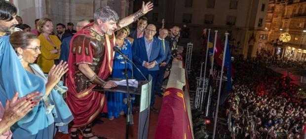 El pregón de las fiestas ha sido realizado por el actor y humorista español Nacho Guerreros, conocido popularmente por su papel de Coque en la serie de televisión 'La que se avecina'