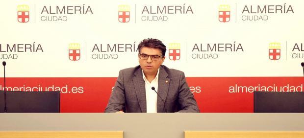 El concejal y portavoz del Grupo Municipal de Ciudadanos (Cs) en el Ayuntamiento de Almería, Miguel Cazorla