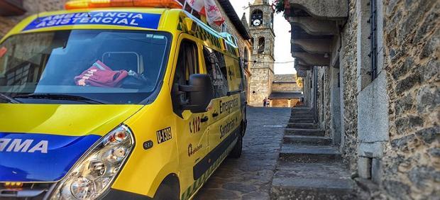 Sucesos.- Cinco heridos tras el vuelco de un turismo en El Burgo de Osma (Soria)