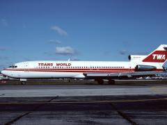 Avión de TWA