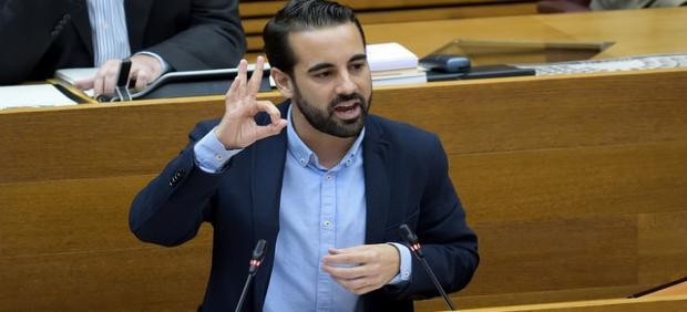 El diputado socialista en Les Corts José Muñoz