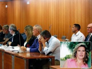 Acusados de la muerte de Lucía Garrido