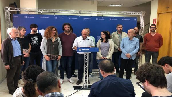 Rueda de prensa del portavoz de En Marea, Luís Villares