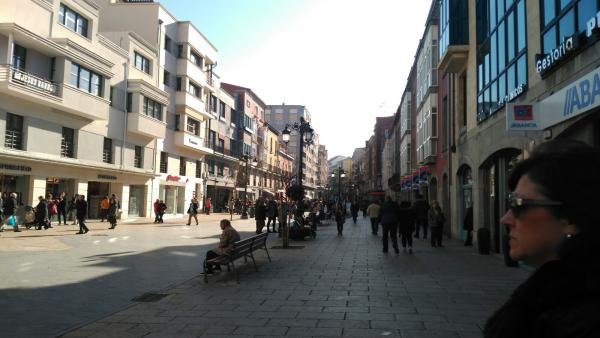 Calle La Cámara en Avilés