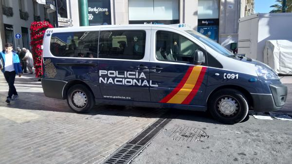 Imagen de recurso de un coche de Policía Nacional.