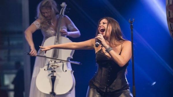 Cristina Ramos, en concierto