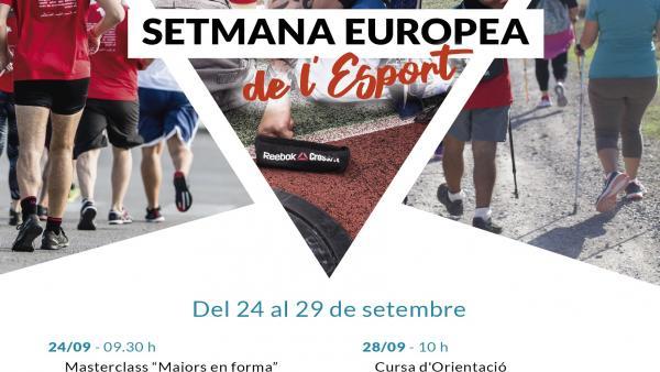 Programa de la Semana Europea del Deporte, en Ibiza.