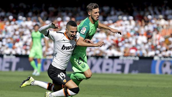 Valencia y Leganes se enfrentan en LaLiga