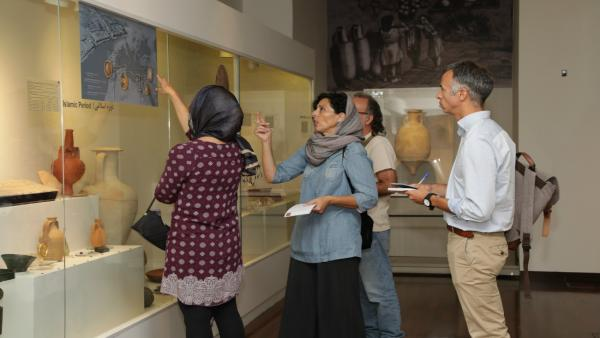 Exposación de 'Alicante Tesoros del Marq' en el Museo Nacional de Irán