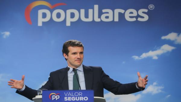10N.- Casado se lanza a recuperar al votante 'enfadado' que apoyó a Vox y al más