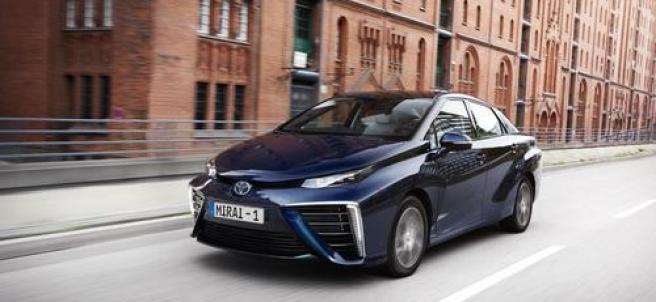 Así es el primer vehículo de Toyota propulsado por hidrógeno