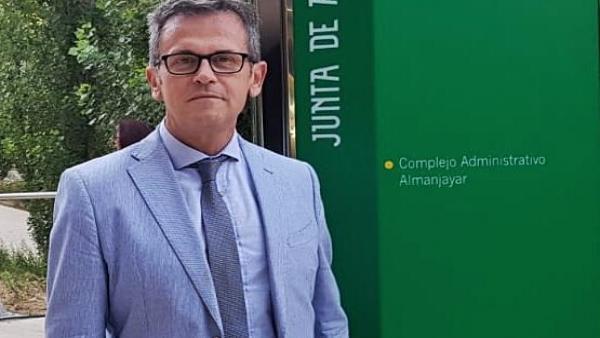 El delegado de Turismo, Regeneración, Justicia y Administración Local de la Junta en Granada, Gustavo Rodríguez.