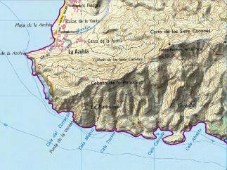 Mapa rdel lugar del escate