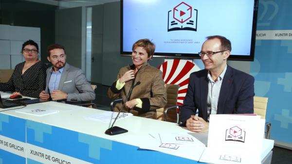 Rueda de prensa de la directora de Turismo de Galicia, Nava Castro