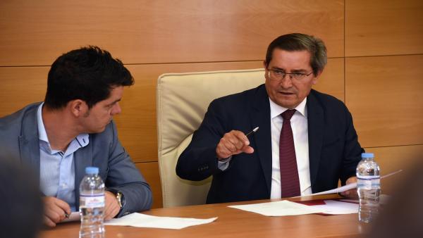 Reunión de la Diputación en la Alpujarra