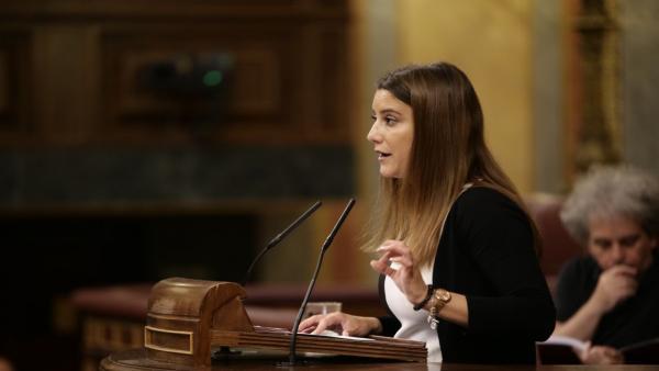 La diputada de Ciudadanos por Sevilla en el Congreso, Virginia Salmerón.