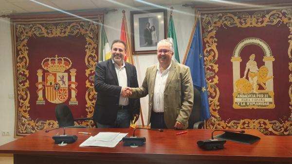 Firma del acuerdo de gobierno