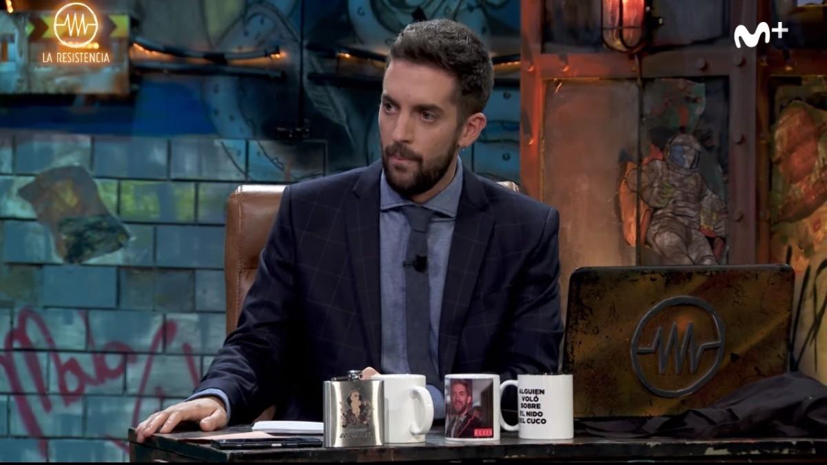 """Broncano critica al Niño de Elche por dar caramelos de cocaína al público de 'La resistencia': """"Soy..."""