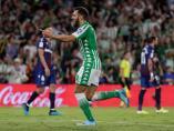 Borja Iglesias marca su primer gol con el Betis al Levante