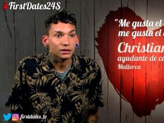 Christian, en 'First dates'.