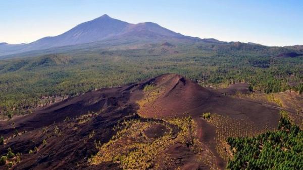 Zona volcánica de Tenerife