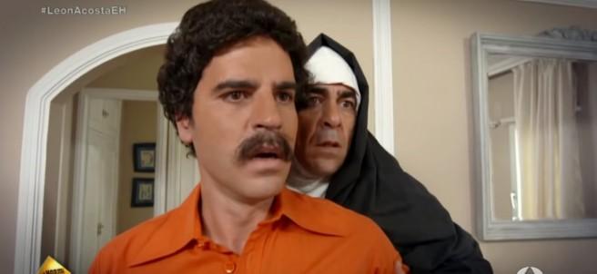 Ernesto Sevilla y Pablo Chiapella en un 'sketch' de 'El hormiguero'