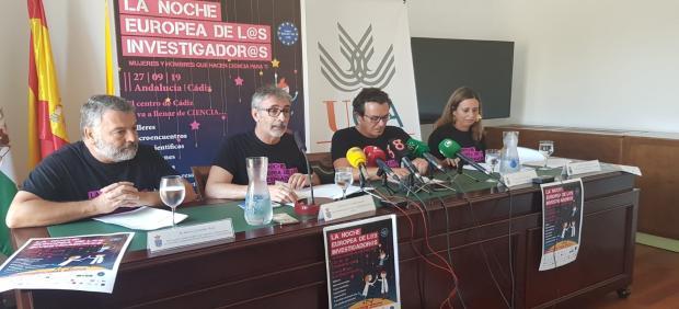 Presentación de la Noche Europea de los Investigadores de la UCA
