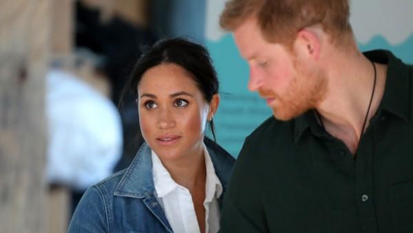 Meghan Markle y el príncipe Harry en Ciudad del Cabo, Sudáfrica