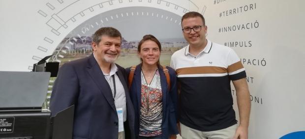 Gabriel Anzaldi, Gemma Batlle y Josep Pijuan