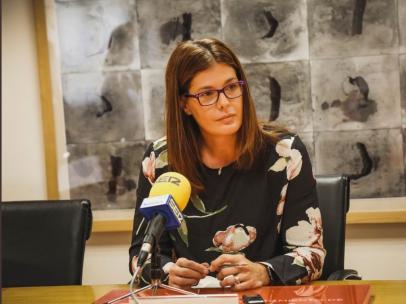 Imagen recurso de la alcaldesa de Móstoles, Noelia Posse.