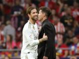 Sergio Ramos y Diego Pablo Simeone