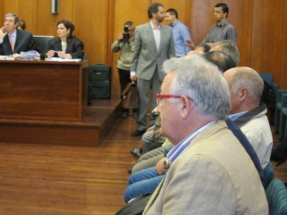 Imagen de archivo del exalcalde de Castro Urdiales, Fernando Muguruza, en otra causa judicial