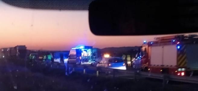 Accidente en Fuentes de Ebro