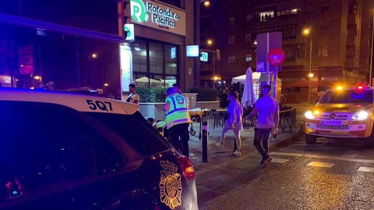 Siete heridos, cuatro graves, en una pelea con machetes y armas de fuego entre bandas latinas en Madrid
